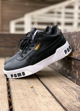 Кроссовки Puma Cali Black (мех)