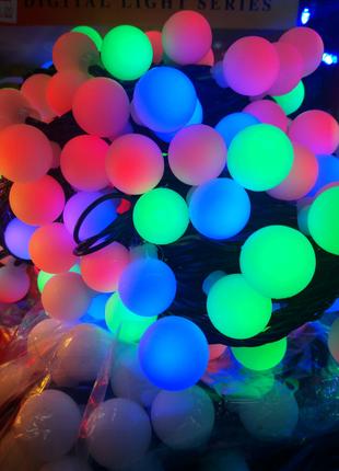 Гирлянда Новогодняя Led шарики