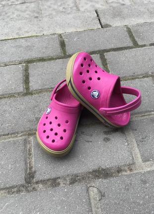 Кроксы crocs оригинал с8-9