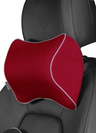 Подголовник в авто, ортопедическая подушка для шеи на подголовник