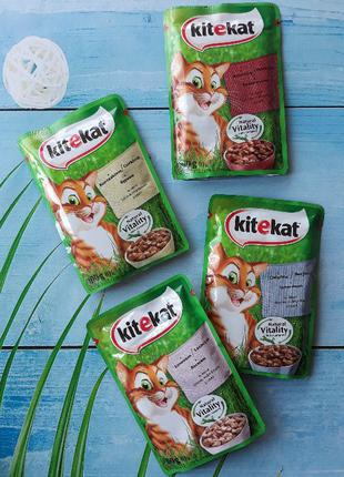 Китикет корм для котов Kitekat 100г