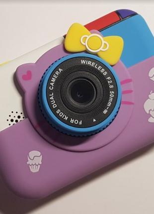 Original. Детский цифровой фотоаппарат Hello Kitty. Хелло Китти