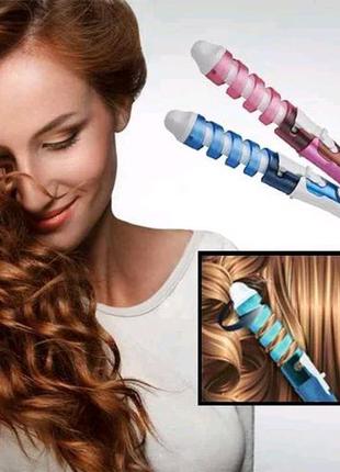 Профессиональная спиральная плойка для завивки волос