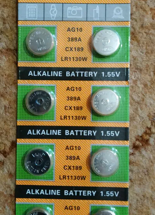 AG10 батарейка таблетка