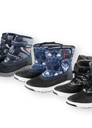 Pepperts детские зимние ботинки 34 размер