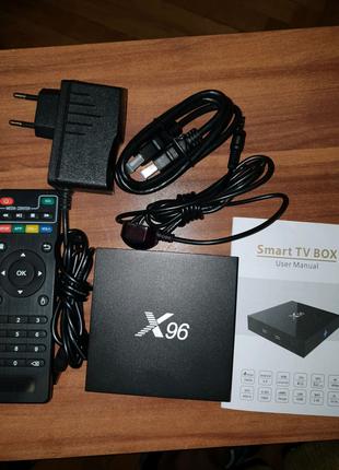 X96 SMART TV BOX 2/16 гб