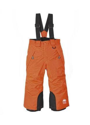Термо штаны лыжный полу комбинезон мальчику 1 - 2 года lupilu