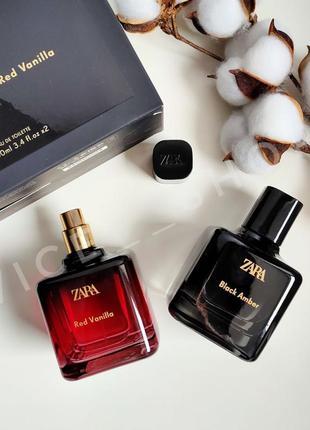Zara духи парфюмерия туалетная вода набор оригинал испания