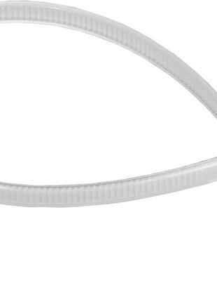 Хомут пластиковый (стяжка) 3,6мм * 200мм (Белый)