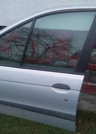Двері Рено Сценік 1 сірий колір