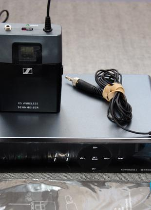 Радиосистема петличка , мікрофон петличний Sennheiser XSW-1-ME2-B