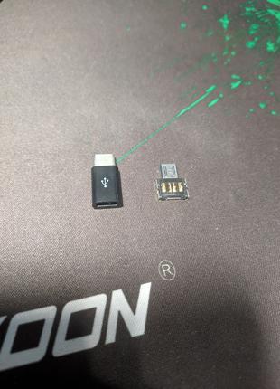 Переходник OTG и переходник с mini-USB на type-C