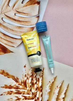 Набор: крем для ног + ночная маска для увлажнения кожи лица + ...