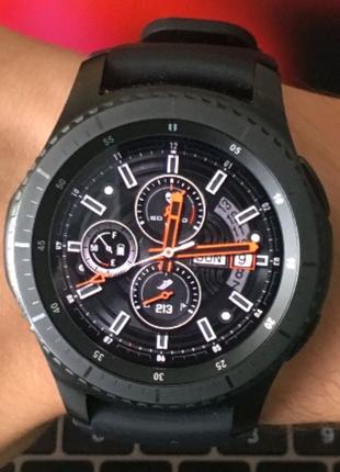 Новые Смарт Часы Samsung Gear S3 Frontier(обмен-продажа)