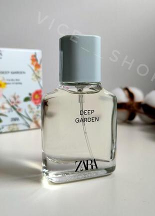 Zara deep garden парфюм духи парфюмерия туалетная вода оригина...