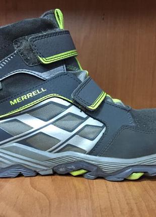 Ботинки на липучках мальчику Merrell