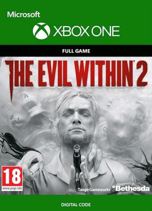 Игра на xbox one The Evil Within 2