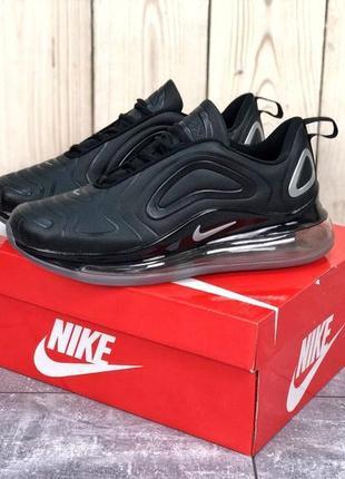 Черные мужские кроссовки nike air max 720 41 42 43 44 45 размер