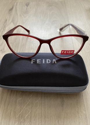 Стильные прозрачные очки, оправа под замену линз