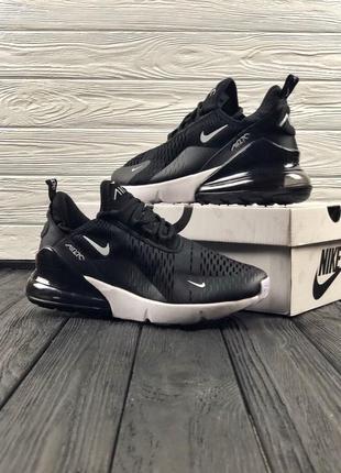 Черные мужские кроссовки nike air max 270
