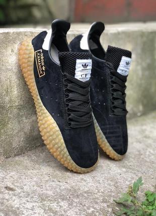Мужские черные кроссовки adidas kamanda