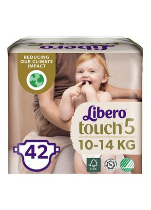 Подгузники Libero Touch 5. 42 шт