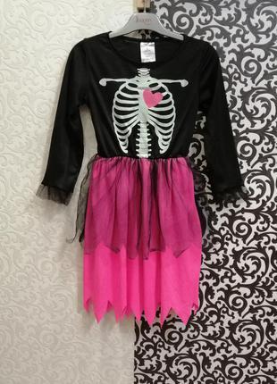 Карнавальный костюм платье в стиле хэллоуин
