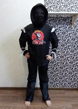 Карнавальный костюм ниндзя воин