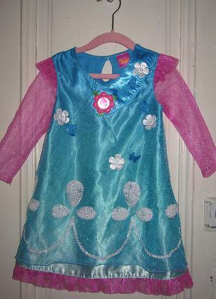 Платье карнавальное.3-4 года..рост  98-104см