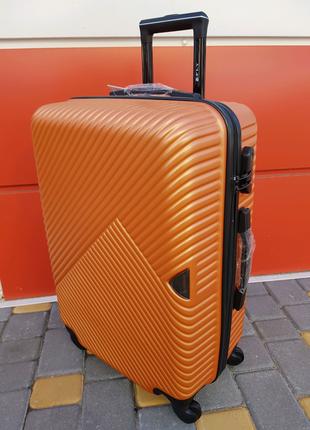 Чемодан средний фирмы FLY luggage 2702 M orange