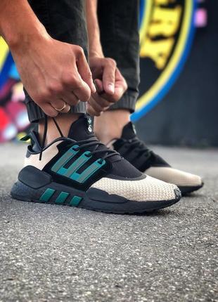 Мужские разноцветные кроссовки adidas eqt support 91/18