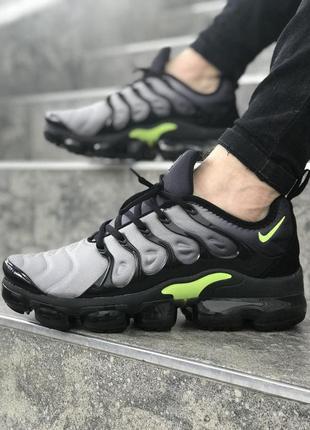 Серые мужские кроссовки nike air vapormax plus