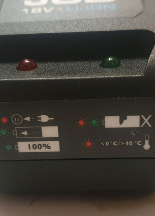 Зарядное устройство JCB 18V li-ion