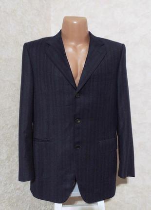Мужской тёплый пиджак блейзер от lanvin, 48-50