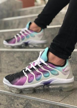 Мужские разноцветные кроссовки nike air plus tn