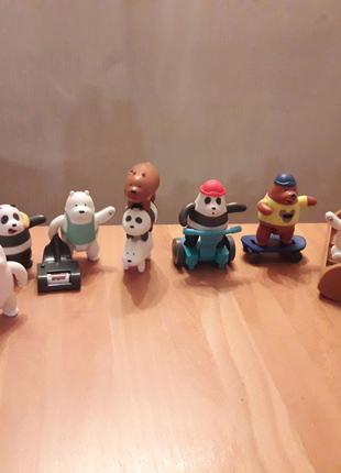 Игрушки мишки из мультфильма  Мы обычные медведи