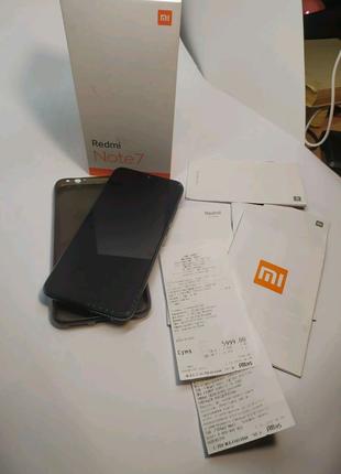 Телефон Xiaomi (Сяоми) Redmi Note 7,  Black, 128GB