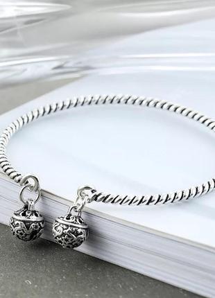 Мегастильный серебряный браслет s925