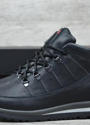 Мужские кожаные ботинки fila 101 чер