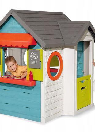 Игровой домик - ресторан SMOBY 810403 Кухня, магазин, продукты