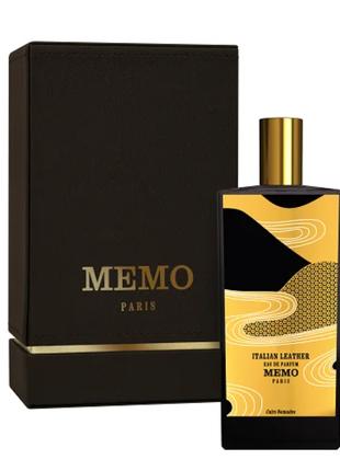 MEMO Italian Leather унисекс 75 мл Парфюмированная вода