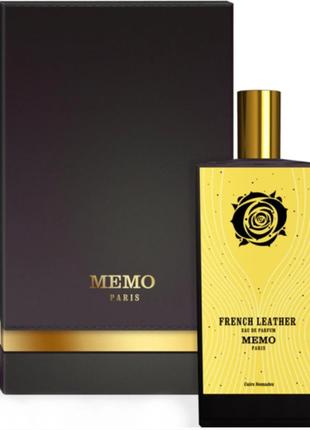MEMO French Leather унисекс 75 мл Парфюмированная вода