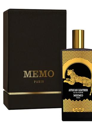 MEMO African Leather унисекс 75 мл Парфюмированная вода