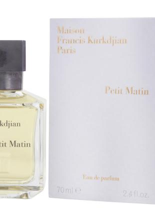 Maison Francis Kurkdjian Petit Matin Парфюмированная вода унисекc