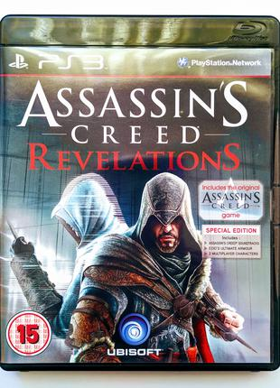 ASSASSIN'S CREED Revelations Special Edition PS3 диск | РУС