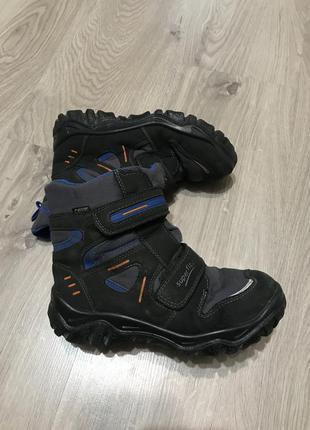 Зимние ботинки для мальчика superfit 33 размер