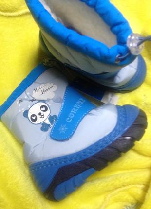 Дутики детские(термо ботинки, сноубутсы) зимние есть размеры