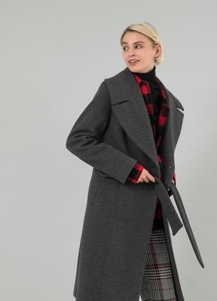 Осеннее женское пальто season жаклин графит
