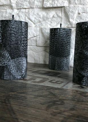 Декоративные свечи из пальмового воска, свечи из воска. 55/110 мм