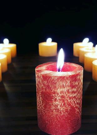 Декоративные свечи из пальмового воска, свечи из воска. 55/70 мм